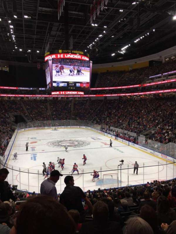 Centre Vidéotron, section: 107, row: PP, seat: 18