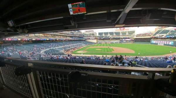 Target Field, section: 109, row: WC, seat: 9