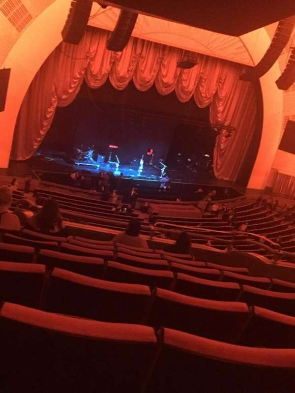 Radio City Music Hall, section: 2nd Mezzanine 7, row: G, seat: 709