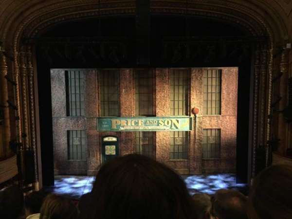 Al Hirschfeld Theatre, section: Mezzanine, row: F, seat: 108