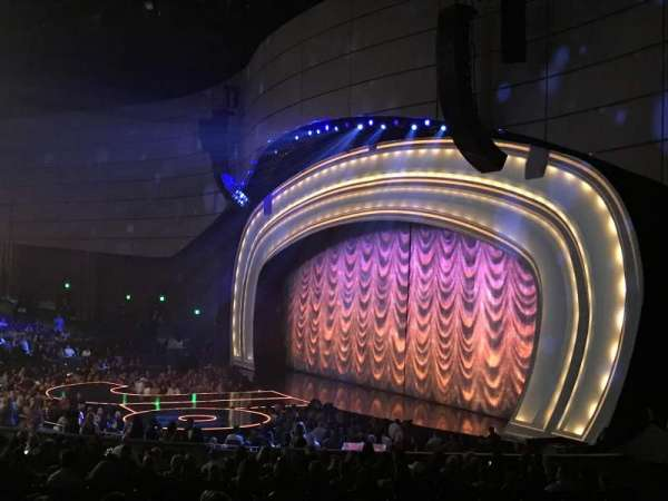 Zappos Theater, section: 201, row: J, seat: 7
