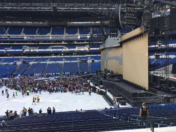 Lucas Oil Stadium, section: 212, row: 2, seat: 7