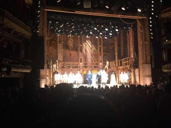 CIBC Theatre, section: Orchestra L, row: S, seat: 3