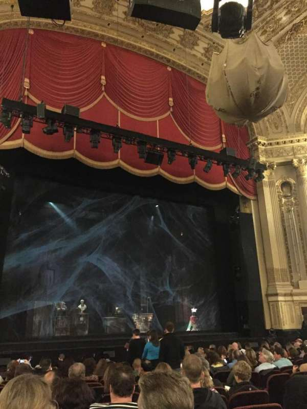 Citizens Bank Opera House, section: ORCHLC, row: L, seat: 11