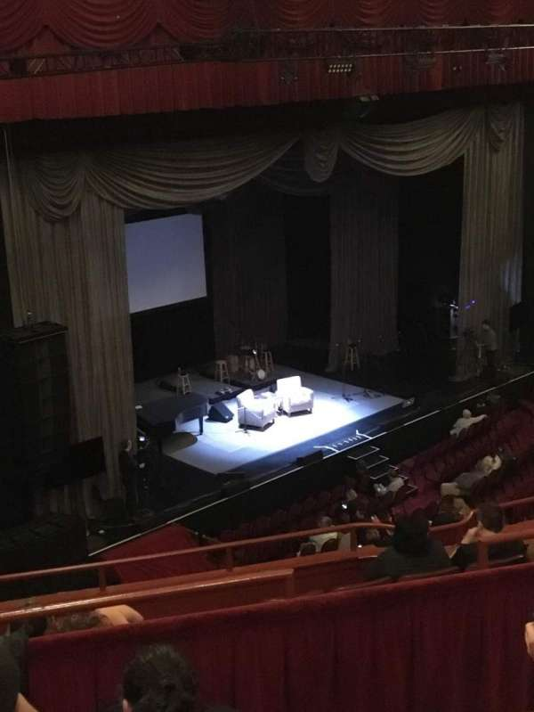 Chicago Theatre, section: BALCONY1L, row: D, seat: 115