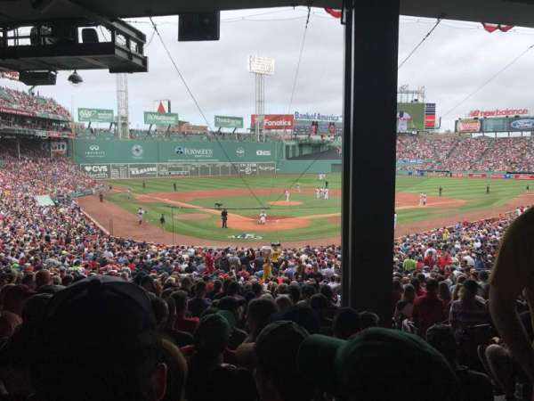 Fenway Park, section: Grandstand 20, row: 7, seat: 3