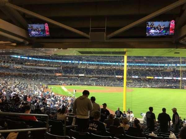 Yankee Stadium, section: 108, row: 19, seat: 18