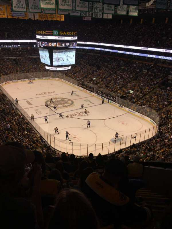 TD Garden, section: Bal 311, row: 9, seat: 6