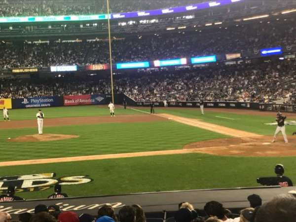 Yankee Stadium, section: 123, row: 3, seat: 5