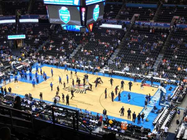 Chesapeake Energy Arena, section: 321, row: M, seat: 13