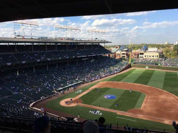 Wrigley Field, section: 425R, row: 5, seat: 13