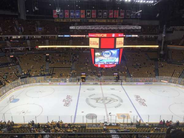 Bridgestone Arena, section: 309, row: C, seat: 8