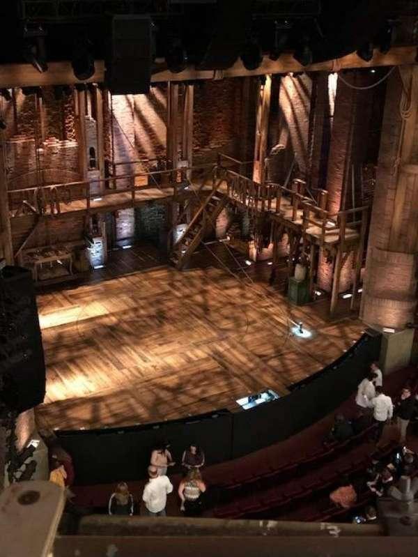 CIBC Theatre, section: Balcony L, row: A, seat: 13