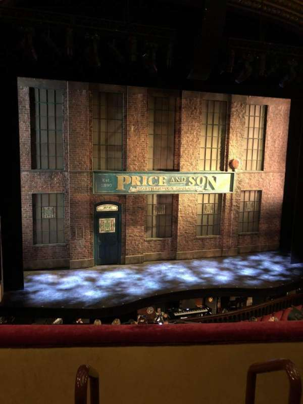 Al Hirschfeld Theatre, section: Mezz Left, row: C, seat: 1