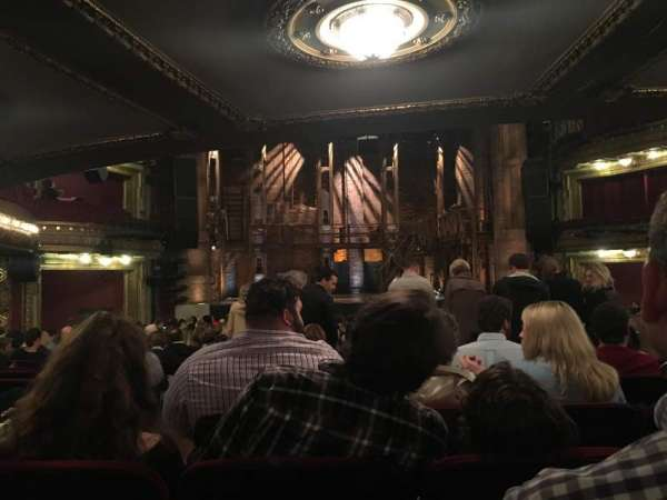 CIBC Theatre, section: Orchestra C, row: X, seat: 105