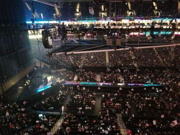 Golden 1 Center, section: 219, row: A, seat: 4