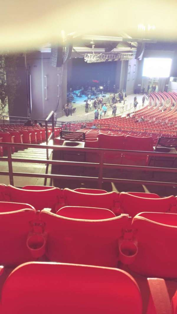 The Greek Theatre, section: North Terrace L2, row: P, seat: 56