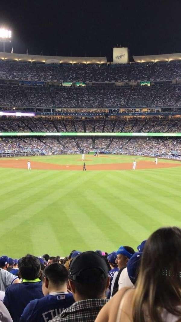 Dodger Stadium, section: 302PL, row: K, seat: 5