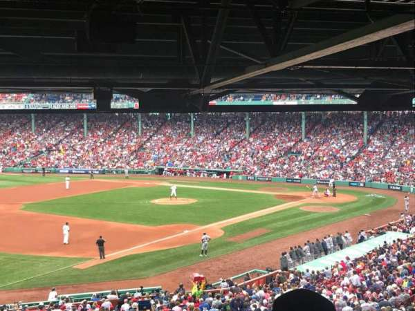 Fenway Park, section: Grandstand 30, row: 18, seat: 22