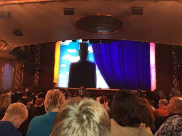 Lunt-Fontanne Theatre, section: Orchestra C, row: V, seat: 108