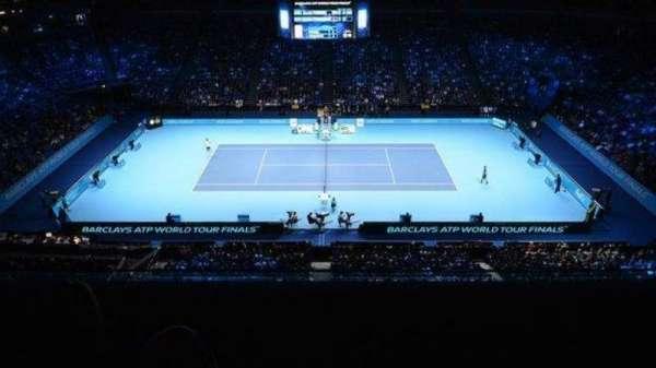 The O2 Arena, section: 111, row: U, seat: 356