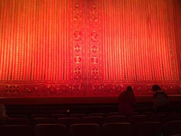 New Amsterdam Theatre, section: Orchestra C, row: F, seat: 110