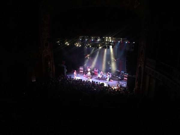 The Fillmore Detroit, section: Lower Balcony, row: Row B, seat: 5