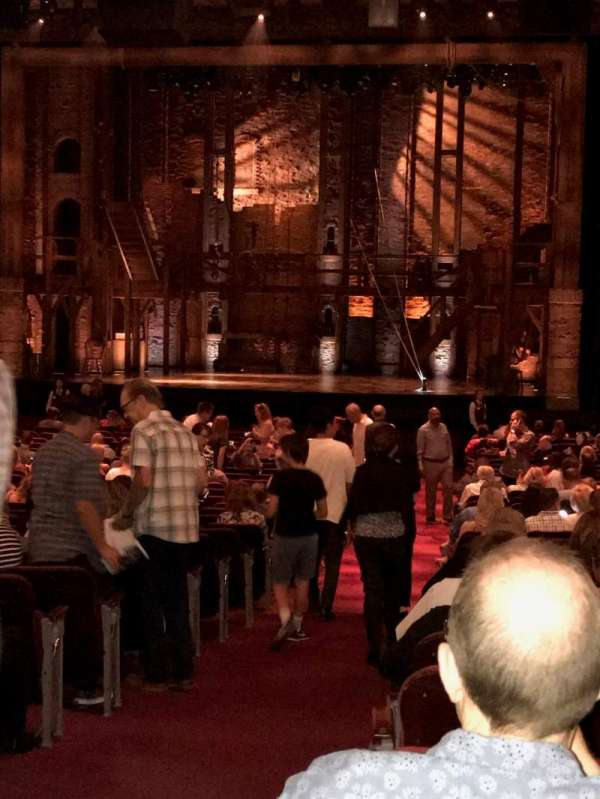 Hollywood Pantages Theatre, section: Orchestra, row: TT, seat: 201