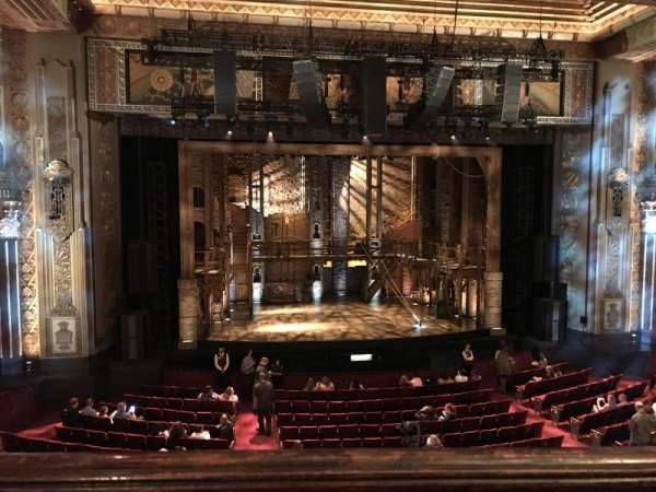 Hollywood Pantages Theatre, section: MEZZLC, row: A, seat: 301