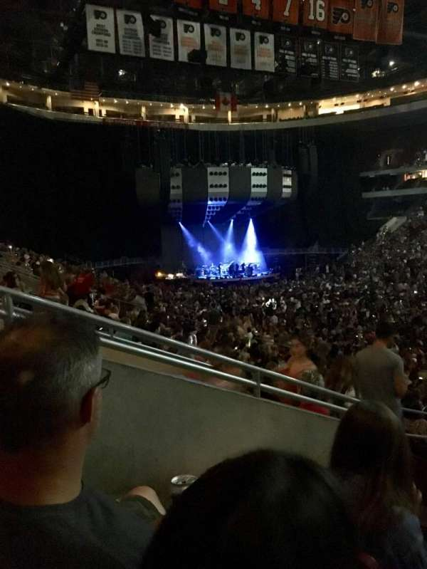 Wells Fargo Center, section: 104, row: 23, seat: 3