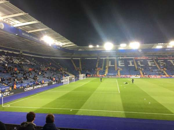 King Power Stadium, section: B, row: L, seat: 93