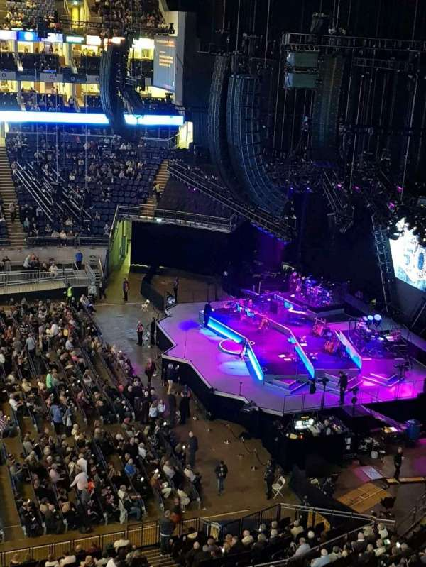 The O2 Arena, section: 420, row: A, seat: 942