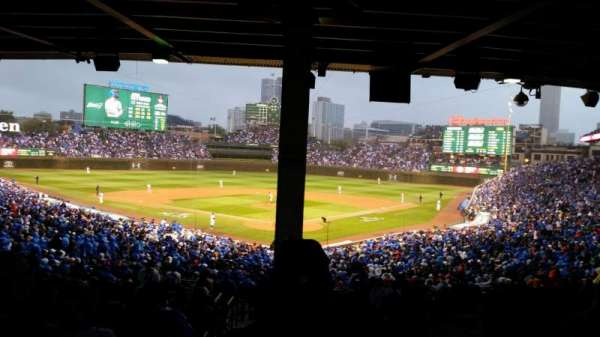 Wrigley Field, section: 217, row: 15, seat: 1