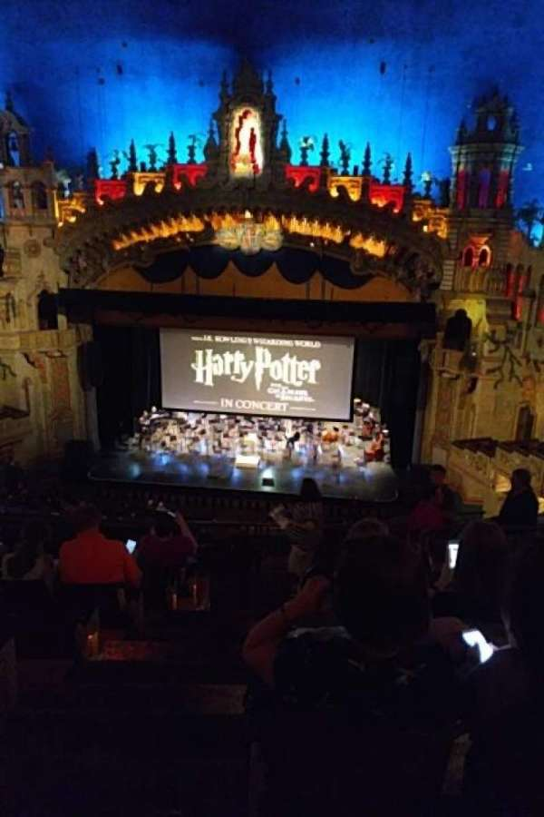 Majestic Theatre - San Antonio, section: Mezzanine RC, row: HH, seat: 1