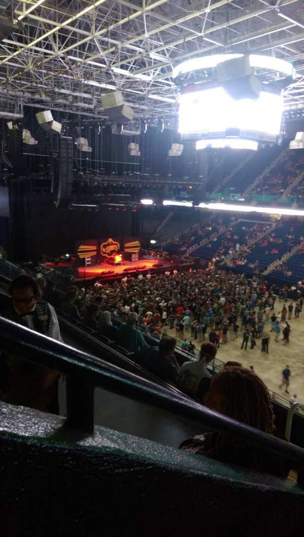 Greensboro Coliseum, section: 214, row: F, seat: 11