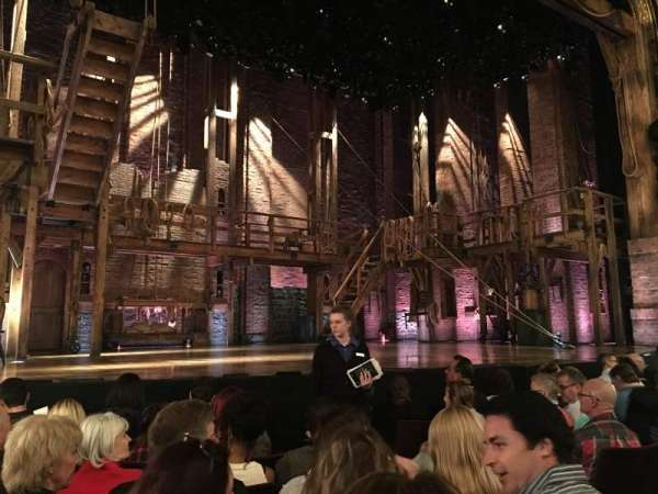 Richard Rodgers Theatre, section: Orchestra L, row: F, seat: 9