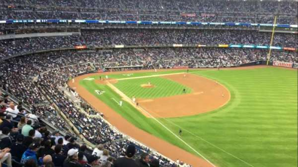 Yankee Stadium, section: 310W, row: 8WC, seat: 1