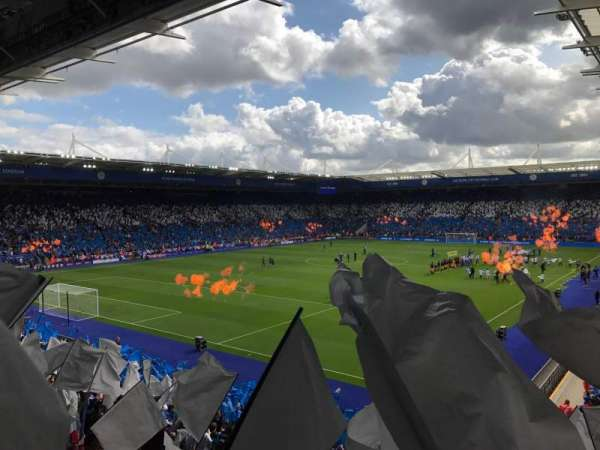 King Power Stadium, section: P3, row: Z, seat: 189