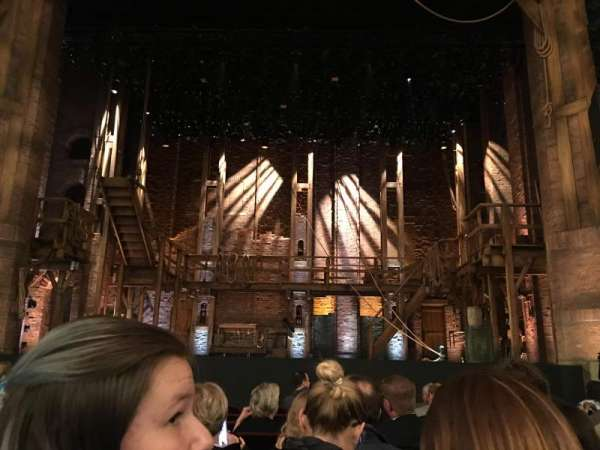 CIBC Theatre, section: Orchestra C, row: K, seat: 108