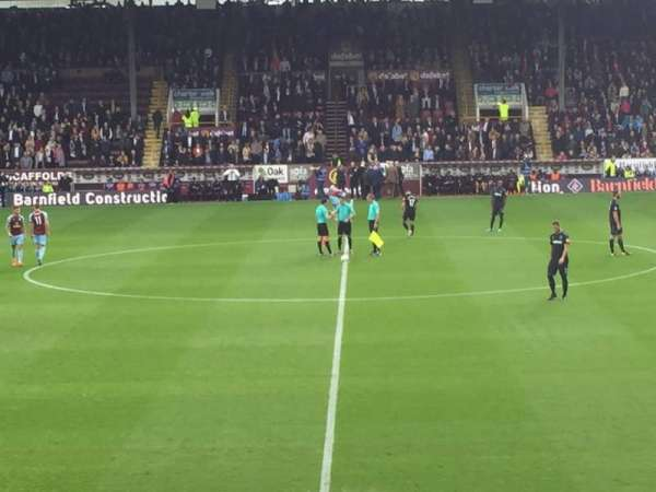 Turf Moor, section: James Hargreaves lower, row: s, seat: 115