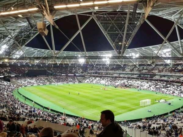 London Stadium, section: 244, row: 56, seat: 198
