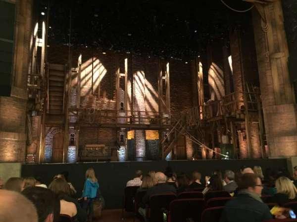 CIBC Theatre, section: Orchestra L, row: K, seat: 1