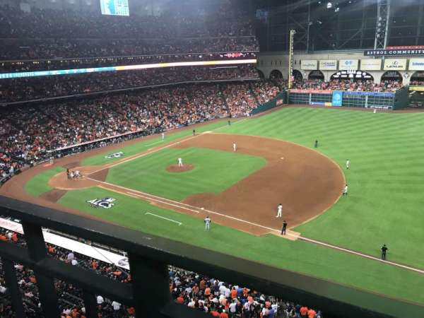 Minute Maid Park, section: 328, row: 1, seat: 19