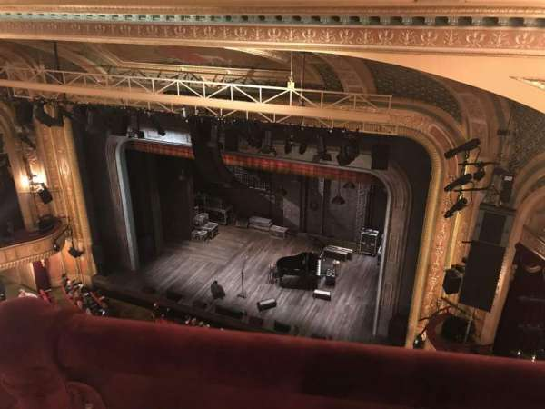 Walter Kerr Theatre, section: Balcony R, row: A, seat: 28