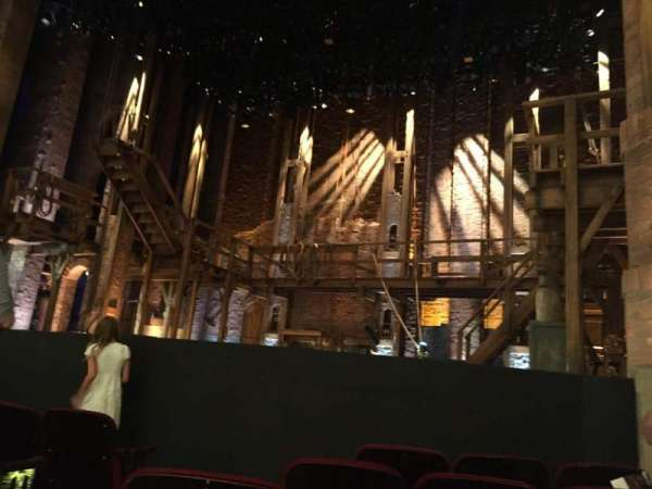 CIBC Theatre, section: Orchestra R, row: F, seat: 6