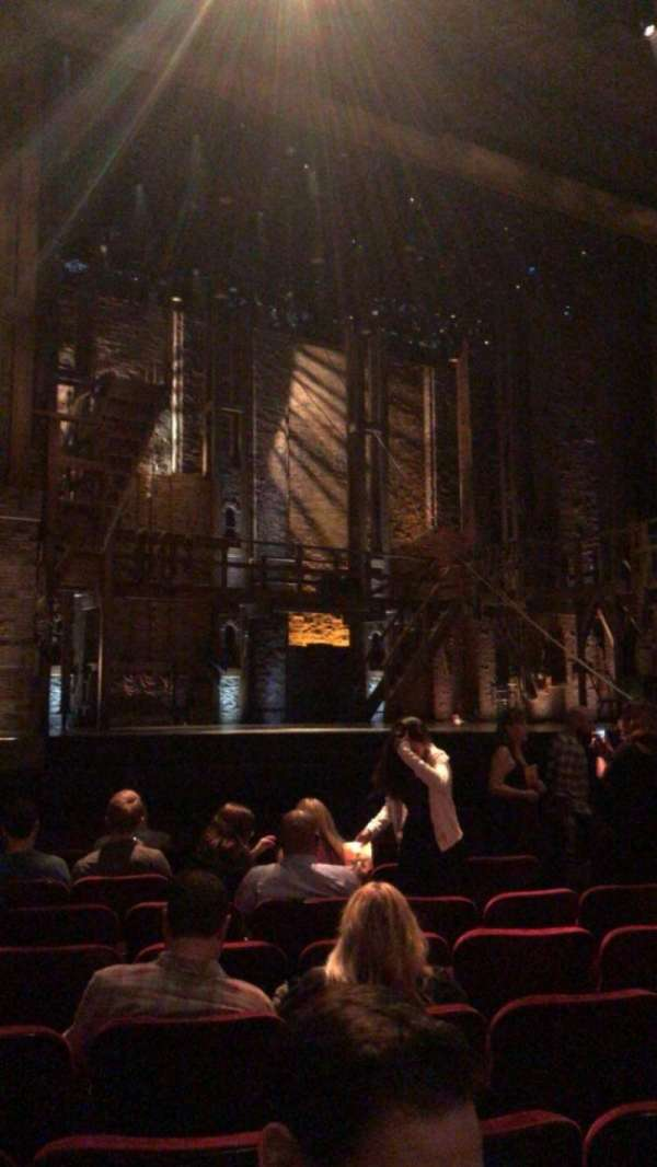 Hollywood Pantages Theatre, section: Orchestra LC, row: J, seat: 309