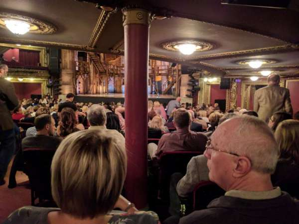 CIBC Theatre, section: Orchestra C, row: X, seat: 4