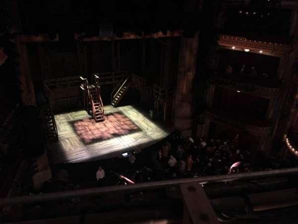 CIBC Theatre, section: Balcony L, row: A, seat: 1