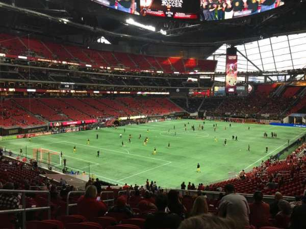 Mercedes-Benz Stadium, section: 116, row: 40, seat: 22