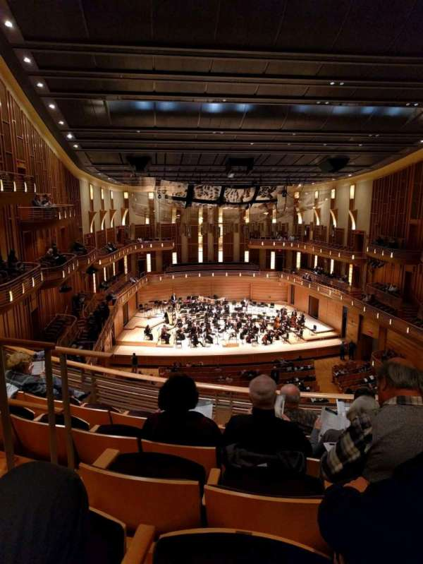 The Music Center at Strathmore, section: Grand Tier Center, row: E, seat: 125